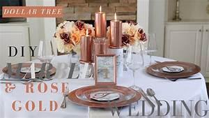 Rose Gold Decor : diy rose gold wedding decor gpfarmasi c8960c0a02e6 ~ Teatrodelosmanantiales.com Idées de Décoration