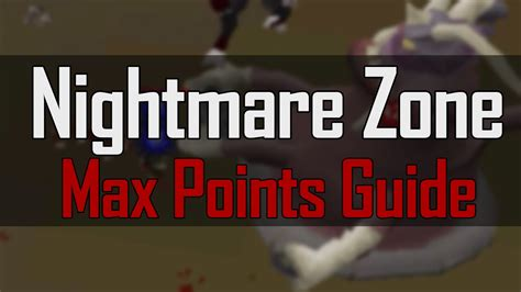 nightmare max points hour per zone