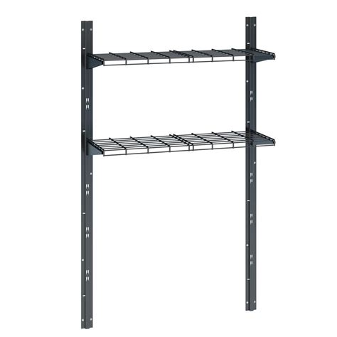 suncast sierra shed shelf accessory kit blacks shop