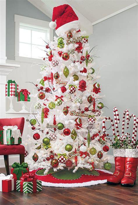 White Tree Decoration Ideas - top white tree decorations
