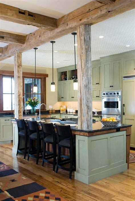 32 Design Ideas For Spaces With Exposed Wooden Beams