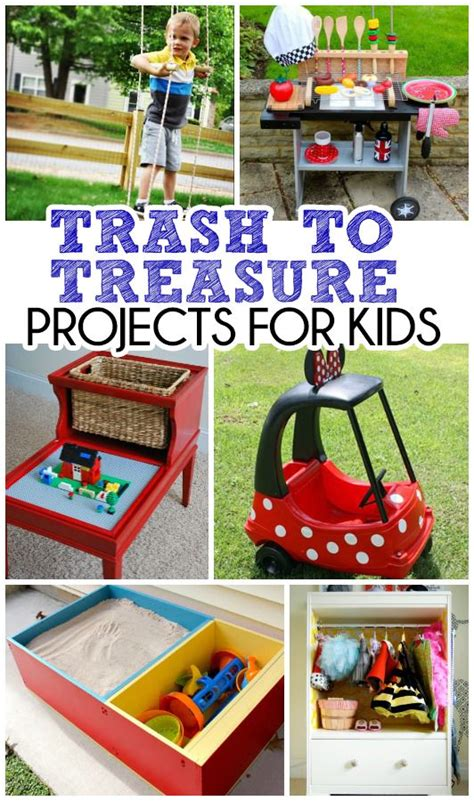 trash to treasure projects trash to treasure projects for kids