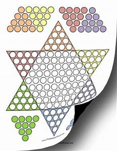 7 best images of checkers game printable template free With chinese checkers board template