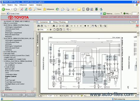 free car manuals to download 2011 toyota prius head up display toyota prius repair manuals download wiring diagram electronic parts catalog epc online