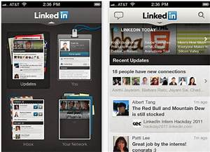 Revamped 39linkedin39 app hits the ios store for Revamped linkedin app hits the ios store