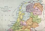 Niederlande Karte Geschichte