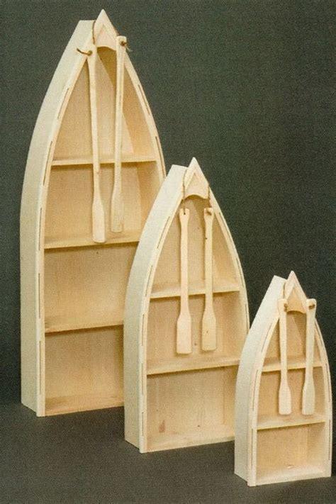 Unfinished Boat Bookshelf by Amish Unfinished Pine 6 Large Nautical Row Boat