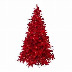 6, 5, U2032, Prelit, Ruby, Red, Christmas, Tree, With, Small, U0026, Large, Lights, 60, U2033, Dia, U2013, 946, Tips, U2013, Theperfectco, Com