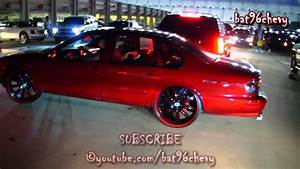 """Candy Red 96 Impala SS on 24"""" Asantis - 1080p HD - YouTube"""