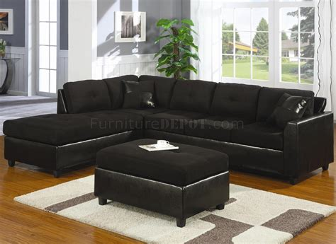 Contemporary Microfiber Sofa by Microfiber Faux Leather Contemporary Sectional Sofa