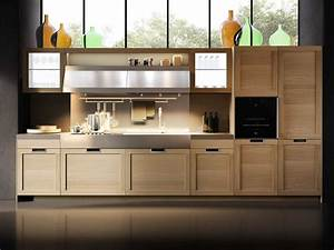 Cuisine Bois Massif : cuisine bois massif solde cuisine cbel cuisines ~ Premium-room.com Idées de Décoration