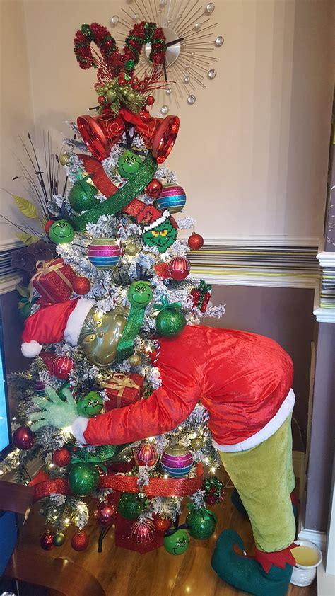grinch christmas tree kitchen fun    sons