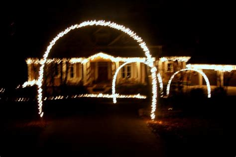 how to build a christmas arch outdoor lights and diy arches hometalk