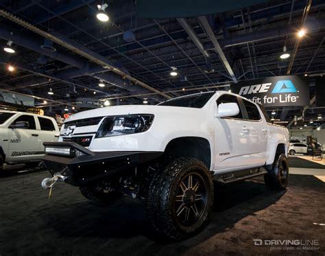 sema top ten trucks page  chevy colorado gmc canyon