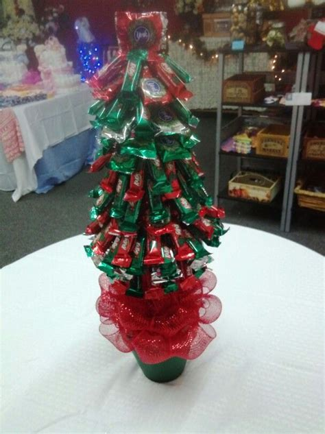 christmas themed candy tree teacher gift idea gift
