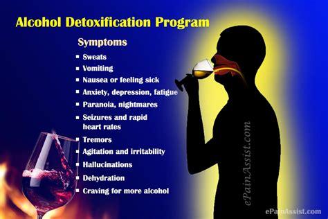 alcohol detoxification program