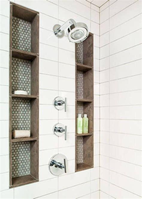 Badezimmer Regal Organisieren by 25 Brilliant Built In Badezimmer Regal Und Storage Ideen
