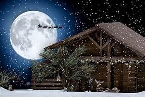 Country, Christmas, Barn
