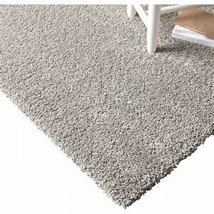 tapis gris shaggy lizzy l160 x l230 cm leroy merlin With tapis but gris