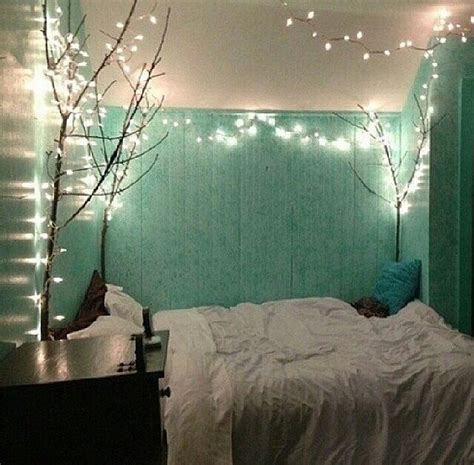 lights around bed easy ways to redecorate your room into a paradise with