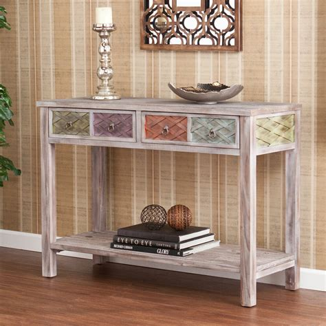 upton home lafond console sofa table furniture home decor accent storage wood ebay