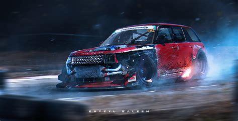 incredible racing cars illustrations  khyzyl saleem