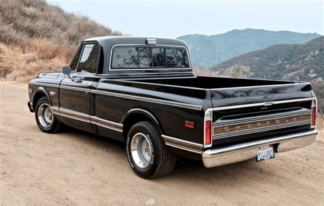 Chevrolet C 10 by Modified 1972 Chevrolet C10 For Sale On Bat
