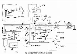 Ariens 915006  000101 -   Ezr 1640  16hp Tec   40 U0026quot  Deck Parts Diagram For Electrical