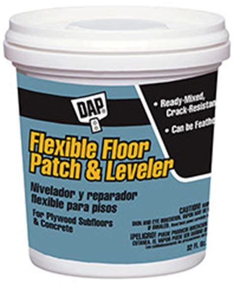Flexible Floor Patch and Leveler   DAP