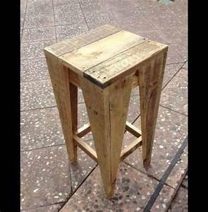 Bar Aus Holzpaletten : hocker hocker st hl design recycling ein ~ A.2002-acura-tl-radio.info Haus und Dekorationen