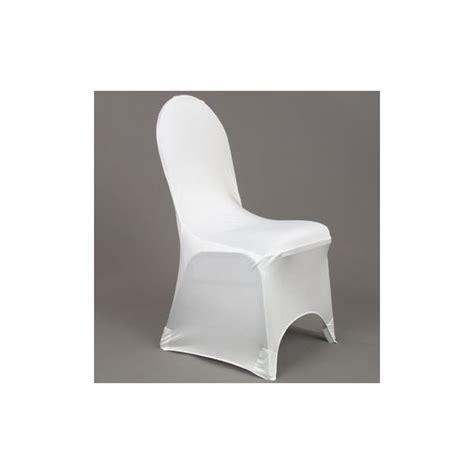 housse de chaise blanche housse de chaise lycra