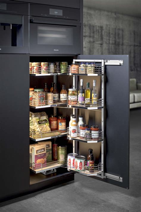 Spice Storage Options by Hafele Tandem Pantry Kitchen Ideas Kitchen Cabinetry