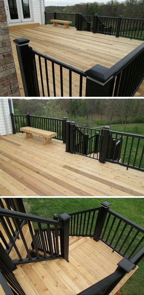Combining Allnatural Cedar Decking With Modern, Low