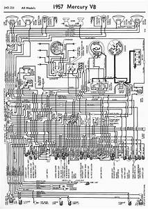 Wiring Diagrams Of 1957 Mercury V8 All Models  U2013 Auto
