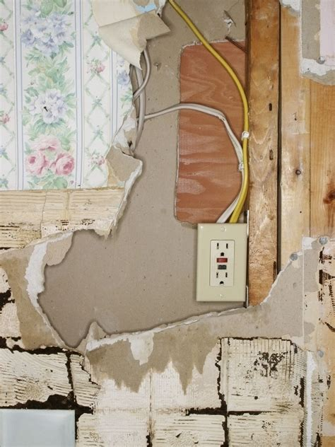 Old Electrical House Wiring Safe