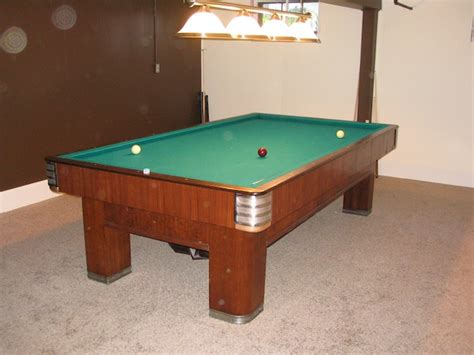 brunswick 20th century carom table for sale