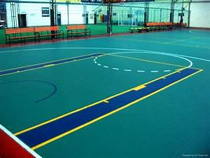 pvc vinyl basketball sports flooring yichen china With what are basketball floors made of