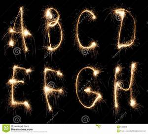 alphabet sparkler stock photo image 1459310 With letter sparklers