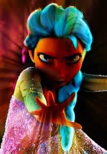 Elsa with Rainbow Powers