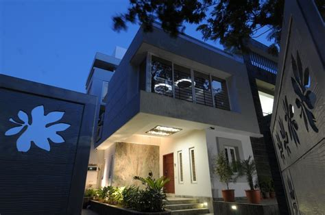 archana amit shah  plush living entrance   house