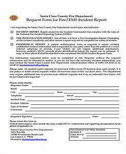 fire department incident report template - 53 incident report examples sample templates