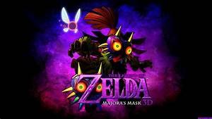The Legend Of Zelda Majora39s Mask Wallpaper By Mentalmars