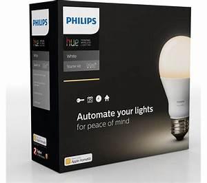 Hue Starter Kit : buy philips hue white smart bulb starter kit e27 free delivery currys ~ Orissabook.com Haus und Dekorationen