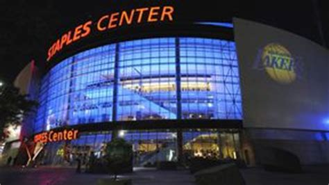 staples center seating chart pictures directions  history los angeles lakers espn