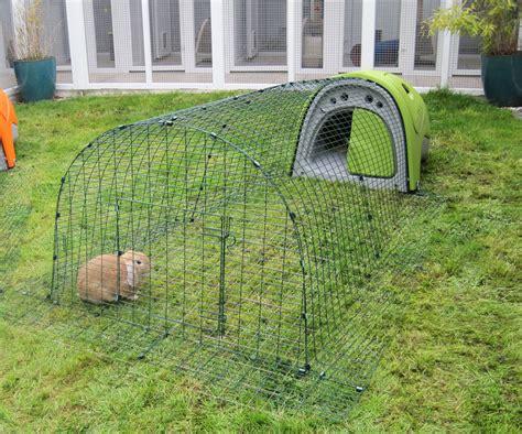 omlet rabbit hutch eglu classic rabbit hutch rabbit house for two rabbits