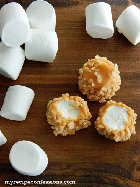 marshmallow recipes rice krispie caramel marshmallows my recipe confessions