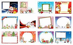 20 Free Christmas Photo Frame Templates Images - Free ...