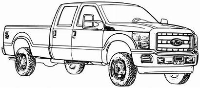 Truck Ford Coloring Pages Trucks Gmc Pickup