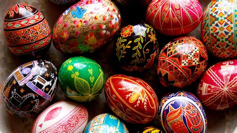 easter egg easter eggs become art to celebrate life s rebirth the salt npr