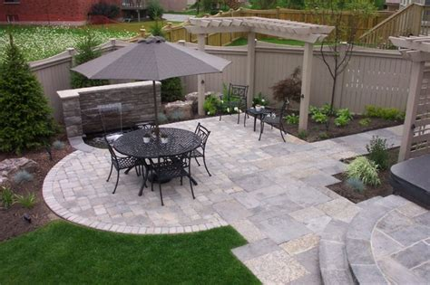 Suburban Backyard Landscaping Ideas by Suburban Oasis Backyard Landscape Richmond Hill